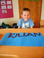 Kilian hat seinen Namen gelegt